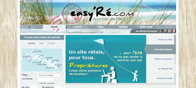 Sites Internet pour bien louer sa maison sur l'île de Ré