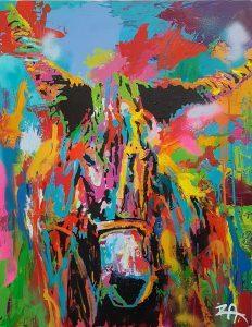 Peintre sur l'ile de Ré | Les toiles d'IZA Le Guen